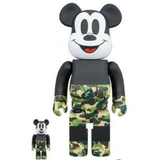 BE@RBRICK BAPE MICKEY MOUSE 100%&400% (その他)