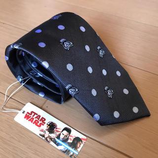 THE SUIT COMPANY - スターウォーズ スーツカンパニー コラボ ドット柄ネクタイ 新品 グレー