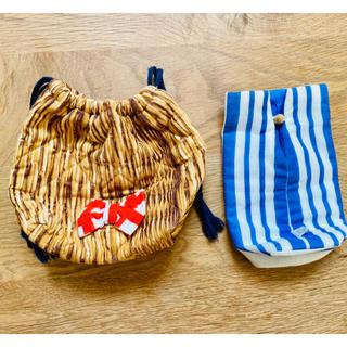 アイーダ(AIDA)のハンドメイド巾着 ペットボトルケース (外出用品)