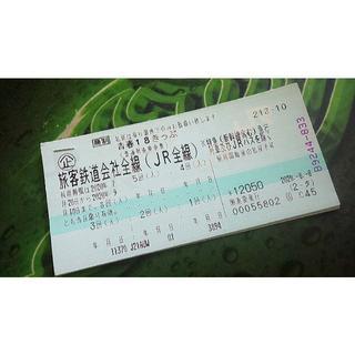 青春18きっぷ未使用(鉄道乗車券)