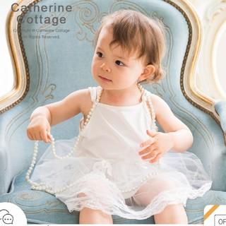 キャサリンコテージ(Catherine Cottage)のベビードレス インナー 新品未使用(セレモニードレス/スーツ)