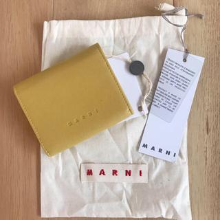 マルニ(Marni)の【新品】MARNI マルニ 二つ折り財布(財布)