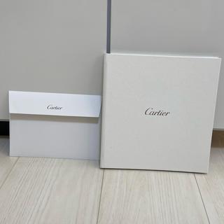 カルティエ(Cartier)のCartier ブライダルブック&封筒セット ♡新品未使用♡(カード/レター/ラッピング)
