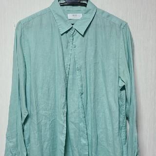 ユニクロ(UNIQLO)のUNIQLO リネン長袖シャツ(シャツ/ブラウス(長袖/七分))
