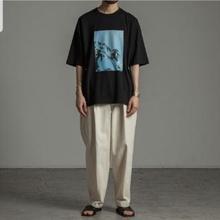 マーカウェア(MARKAWEAR)のmarkaware Organic Cotton Knit Print Tee (Tシャツ/カットソー(半袖/袖なし))