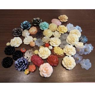 キワセイサクジョ(貴和製作所)のローズ・お花パーツまとめ売り3万円相当→1700円(各種パーツ)
