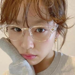 エディットフォールル(EDIT.FOR LULU)のmeme vintage clear cat sunglasses UV 高橋愛(サングラス/メガネ)