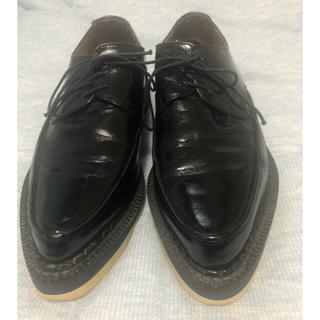 UNDERCOVER - 定価56,000円 アンダーカバー 革靴 シャークソール 厚底