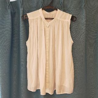 プラステ(PLST)のプラステ PLST ノースリーブシャツ(カットソー(半袖/袖なし))