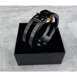 オフホワイト(OFF-WHITE)のRollercoaster Bracelets バックルブレスレット(バングル/リストバンド)