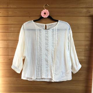 サマンサモスモス(SM2)のサマンサモスモスのシャツ+白ワンピース(SM2ではございません)★(その他)