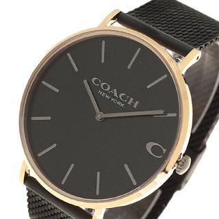 コーチ(COACH)のコーチ 腕時計 メンズ 14602470 チャールズ クォーツ ブラック(腕時計(アナログ))