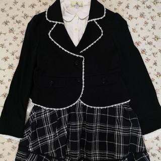 クミキョク(kumikyoku(組曲))の組曲のスーツセット☆女の子 フォーマル スカート(ドレス/フォーマル)