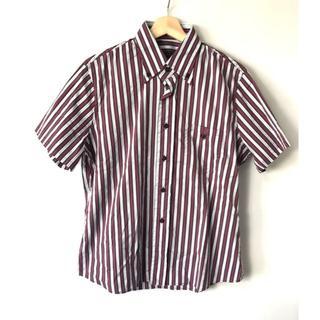 プラダ(PRADA)の【H】希少◆美品◆国内正規品◆プラダ 17SS ストライプ 半袖シャツ 39(シャツ)