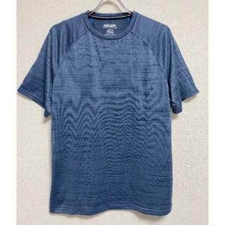 コストコ(コストコ)の新品 XL ★ コストコ メンズ アクティブ 半袖 Tシャツ ブルー US-L(Tシャツ/カットソー(半袖/袖なし))