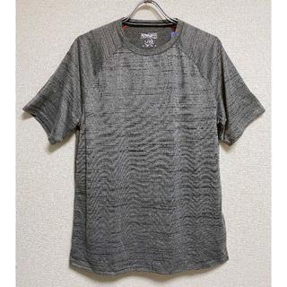 コストコ(コストコ)の新品 XL ★ コストコ メンズ アクティブ 半袖 Tシャツ グレー US-L(Tシャツ/カットソー(半袖/袖なし))