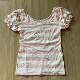 ピーチジョン(PEACH JOHN)のTシャツ(Tシャツ(半袖/袖なし))