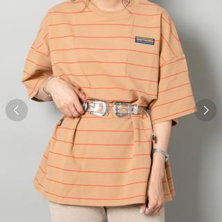 フーズフーギャラリー(WHO'S WHO gallery)の〈値引き中〉ボーダーTシャツ(Tシャツ(半袖/袖なし))