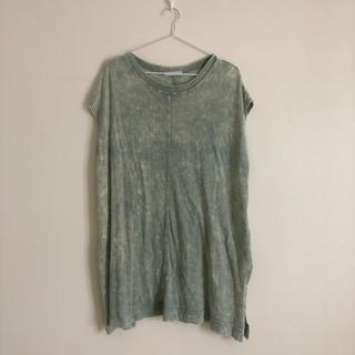 ジーナシス(JEANASIS)のマーブル タイダイ Tシャツ(Tシャツ/カットソー(半袖/袖なし))