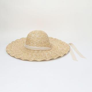 ビューティアンドユースユナイテッドアローズ(BEAUTY&YOUTH UNITED ARROWS)の麦わら帽子<LACK OF COLOR>SCALOPPED ストローハット(麦わら帽子/ストローハット)