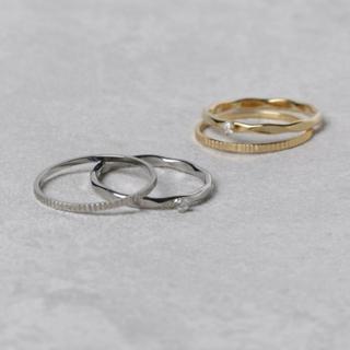 カスタネ(Kastane)のホソ2P リング ノベルティ付き(リング(指輪))