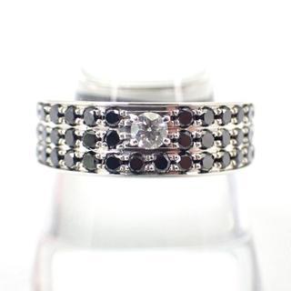 ポンテヴェキオ(PonteVecchio)のポンテヴェッキオ K18WG ダイヤモンド リング#22 [g265-1](リング(指輪))