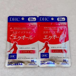 ディーエイチシー(DHC)のDHC エクオール 20日分×2袋 (その他)