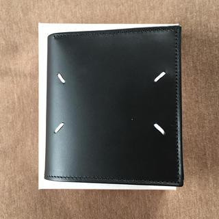 マルタンマルジェラ(Maison Martin Margiela)の20AW新品 メゾン マルジェラ 折り財布 メンズ 新作 黒 オールブラック(折り財布)
