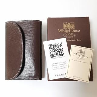 ホワイトハウスコックス(WHITEHOUSE COX)のWhitehouse Cox ブライドルレザー 三つ折り財布 ブラウン(折り財布)