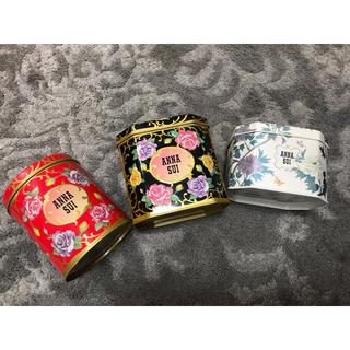 アナスイ(ANNA SUI)のANNA SUI アナスイ 薔薇柄 缶 3つセット コスメ入れ 小物入れ(その他)