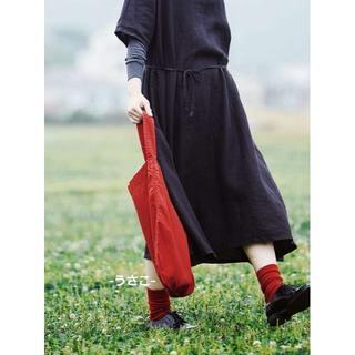 イデー(IDEE)の無印 IDEE POOL いろいろの服 ワンショルダートート バッグ イデー(トートバッグ)