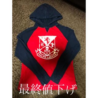 ポロラルフローレン(POLO RALPH LAUREN)のポロラルフローレン ラグランフード付きロンT160(Tシャツ(長袖/七分))