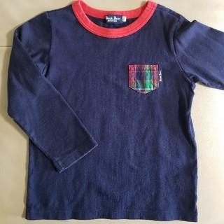 ミキハウス(mikihouse)のブラックベア  長袖Tシャツ110  ミキハウス(Tシャツ/カットソー)