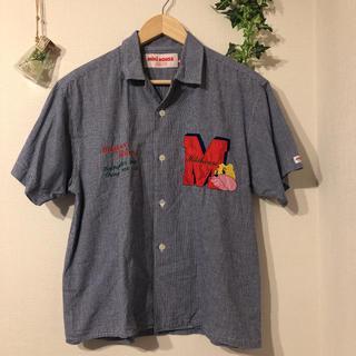 ミキハウス(mikihouse)のMIKI HOUSE MEN'S ギンガムチェックオープンカラーシャツ(シャツ)