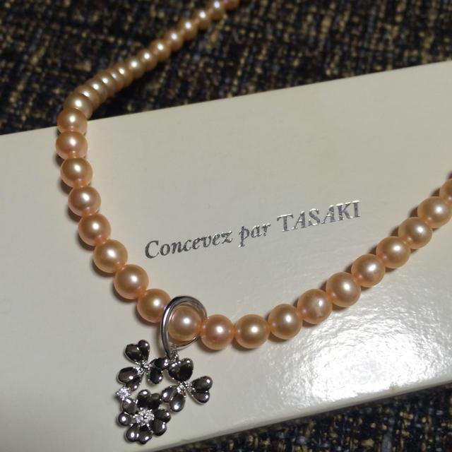 【TASAKI】ピンクパールネックレス レディースのアクセサリー(ネックレス)の商品写真