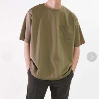 アダムエロぺ(Adam et Rope')のADAM ET ROPÉ ボックスシルエット ハイゲージダブルニットT(Tシャツ/カットソー(半袖/袖なし))