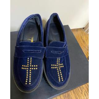 ジュエティ(jouetie)の厚底ラバーソール(ローファー/革靴)