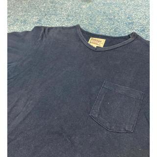 ザダファーオブセントジョージ(The DUFFER of ST.GEORGE)のダファー Duffer 半袖Tシャツ ポケットTシャツ Vネック 無地(Tシャツ/カットソー(半袖/袖なし))