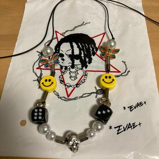 キャピタル(KAPITAL)のSlute evae smiley necklace(ネックレス)