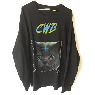 ミルクボーイ(MILKBOY)のTRAVAS TOKYO 猫 ねこ キャット CAT Tシャツ 長袖(Tシャツ(長袖/七分))
