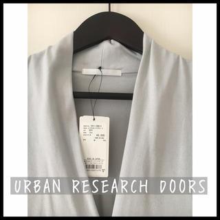 ドアーズ(DOORS / URBAN RESEARCH)のDOORS 7分袖 ワンピース チュニック(ひざ丈ワンピース)