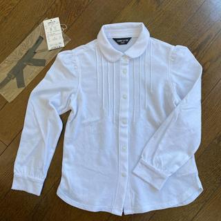 コムサイズム(COMME CA ISM)の【美品】コムサ 長袖 ポロシャツ 120(ブラウス)