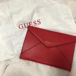 ゲス(GUESS)の【GUESS】クラッチバッグ(クラッチバッグ)