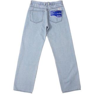 サンシー(SUNSEA)のDAIRIKU Straight Denim Pants 19ss(デニム/ジーンズ)
