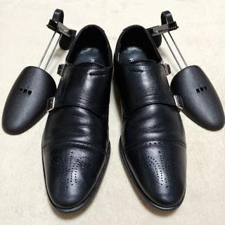 REGAL - ★シューキーパー付き★REGAL ダブルモンク 革靴 レザー シューズ 27㎝