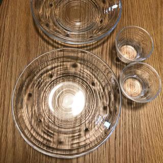トウヨウササキガラス(東洋佐々木ガラス)の無双様専用 東洋佐々木ガラス ガラス食器 4点(食器)