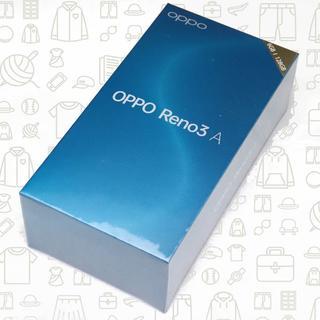 アンドロイド(ANDROID)の【未開封】【S】Reno3A/128/SIMフリー(スマートフォン本体)