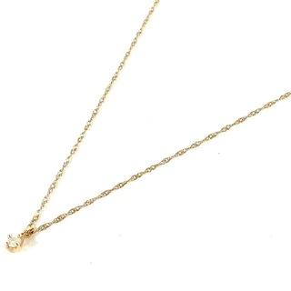 ノジェス(NOJESS)のノジェス ネックレス美品  - 1Pダイヤ(ネックレス)