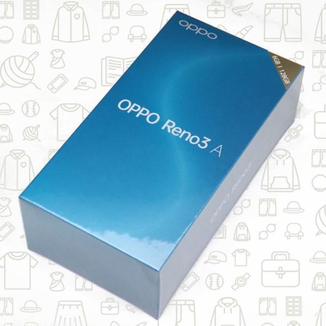 ANDROID(アンドロイド)の【未開封】【S】Reno3A/128/SIMフリー スマホ/家電/カメラのスマートフォン/携帯電話(スマートフォン本体)の商品写真