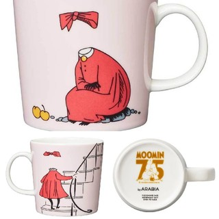 アラビア(ARABIA)の【新品】 アラビア ニンニ ムーミン マグカップ マグ 75周年 2020(グラス/カップ)